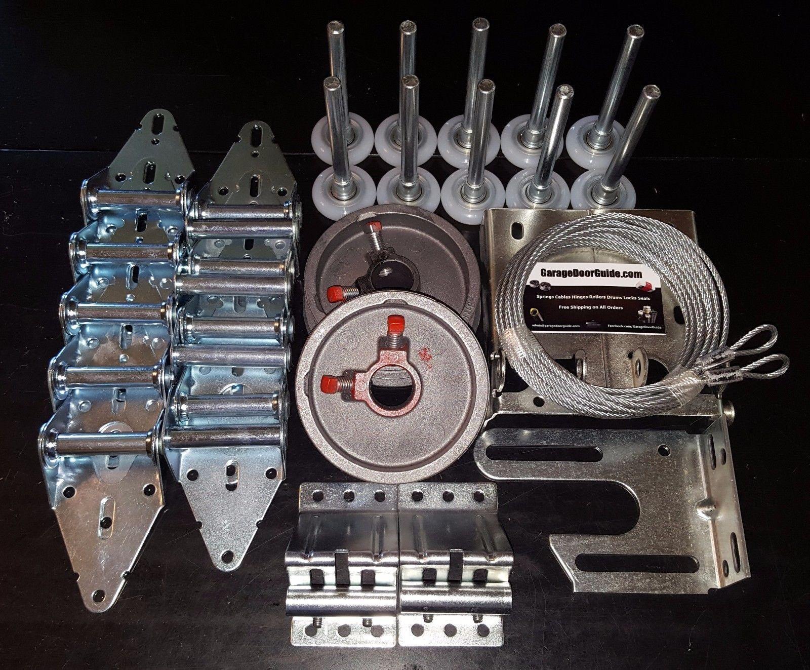 Other Garage Door Equipment 180973 Garage Door Hardware Complete