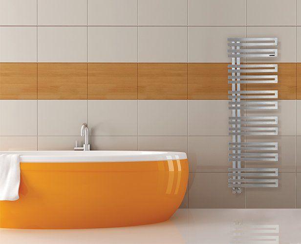 Radiateur sèche-serviettes VOLGA avec un design parfait et pratique - puissance seche serviette salle de bain