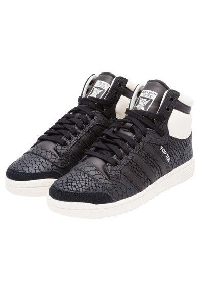 in stock ae8f8 f2edb Training Shoes. Sweat Pants. Coaches. Sneaker. ADIDAS ORIGINALS - Tênis top  ten W Adidas - preto - OQVestir Adidas Outfit, Adidas