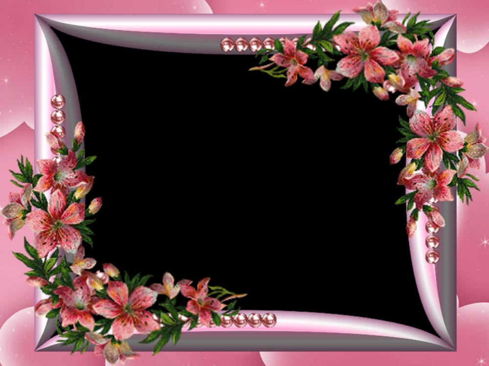 marcos de flores para googleda ara
