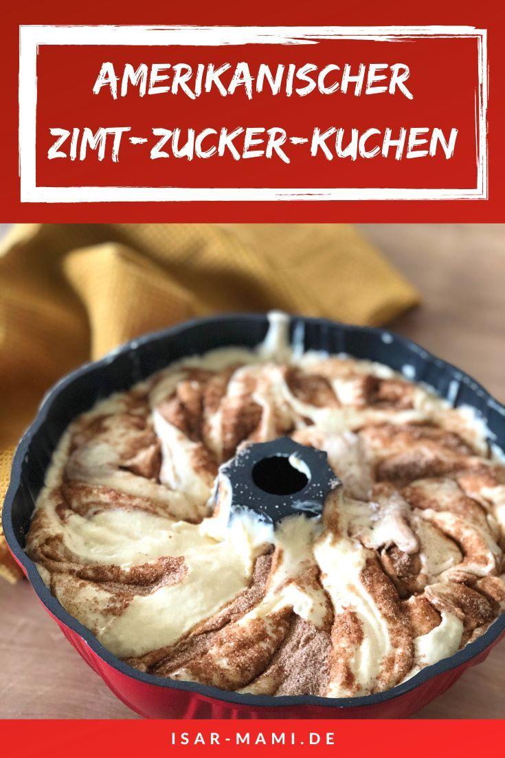 Rezept Zimt-Zucker-Kuchen - Geniales Amish Cinnamon Bread #bananabread