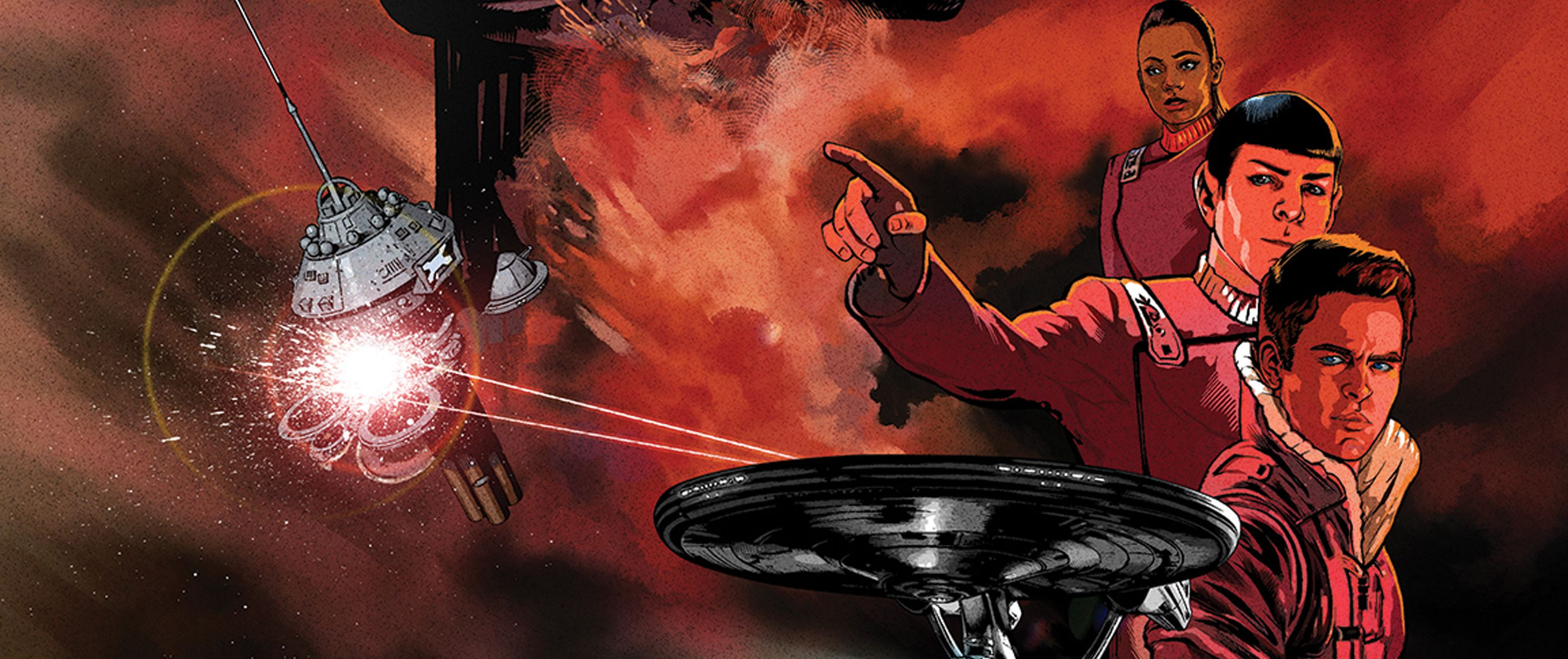 Star Trek FIRST LOOK: IDW's Trek Comics for April