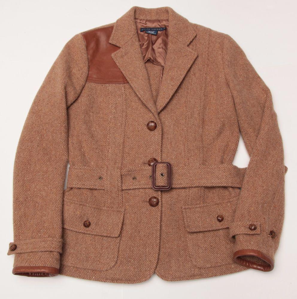 WOW Ralph Lauren Italy Made Norfolk Shooting Sport Coat Suit Jacket Blazer 6 #RalphLauren #Blazer
