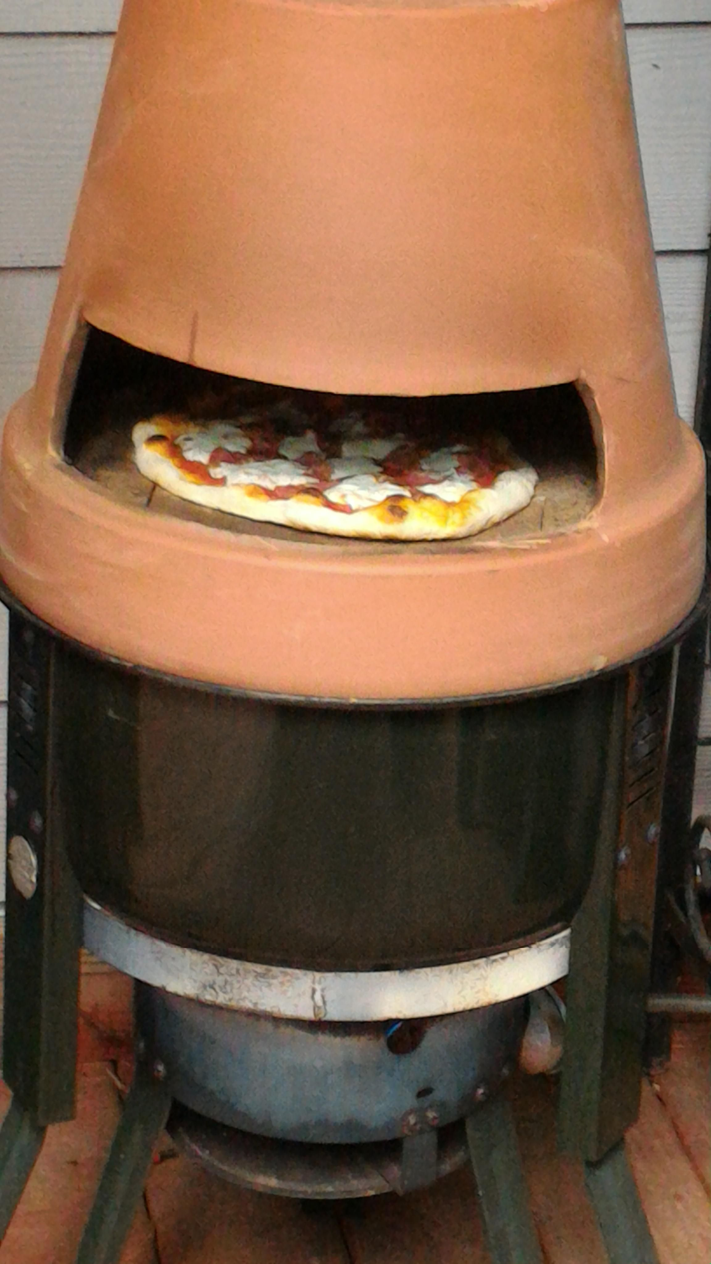 Pinterest & My DIY Flower Pot Pizza Oven | Purring Pizza and Burgos ...