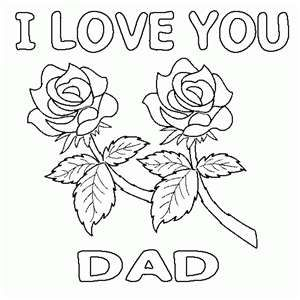 I My Dad May He Rest In Peace Fathers Day Coloring Page Happy Fathers Day Love Coloring Pages