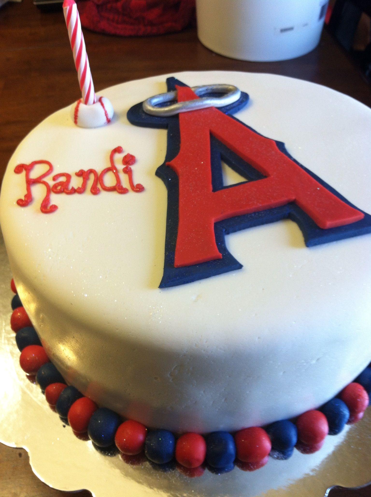 Angels Baseball Cake Cake Grooms Cake Themed Cakes