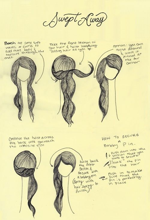 Very cute and easy to do! I did it and my hair is at my shoulders. I ...