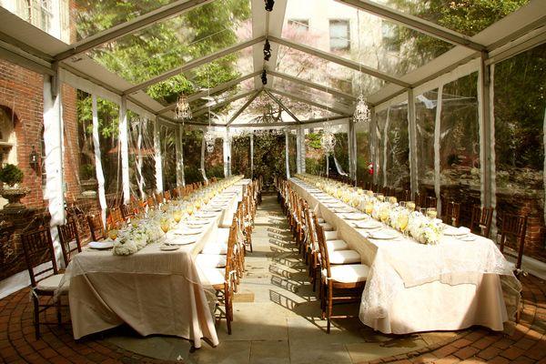Excellent shot of the wedding tent in the m restaurant and morris excellent shot of the wedding tent in the m restaurant and morris house hotel garden junglespirit Gallery