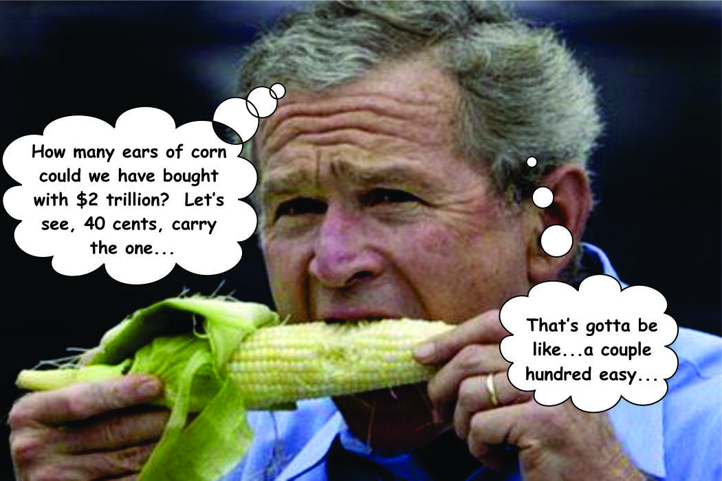 George Bush Corn