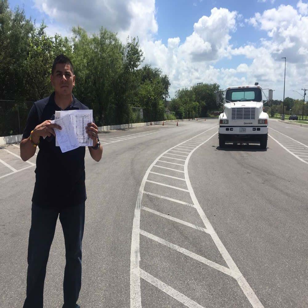 Cdl truck school dallastexas manual truck reading test