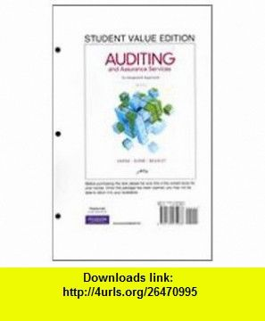 Auditing and assurance services student value edition 14th edition auditing and assurance services student value edition 14th edition 9780132575966 alvin a arens randal j elder mark beasley isbn 10 013257 fandeluxe Images