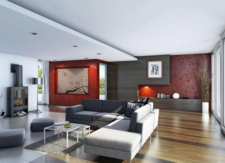 I colori caldi per le zone living - Nel soggiorno e in sala da ...