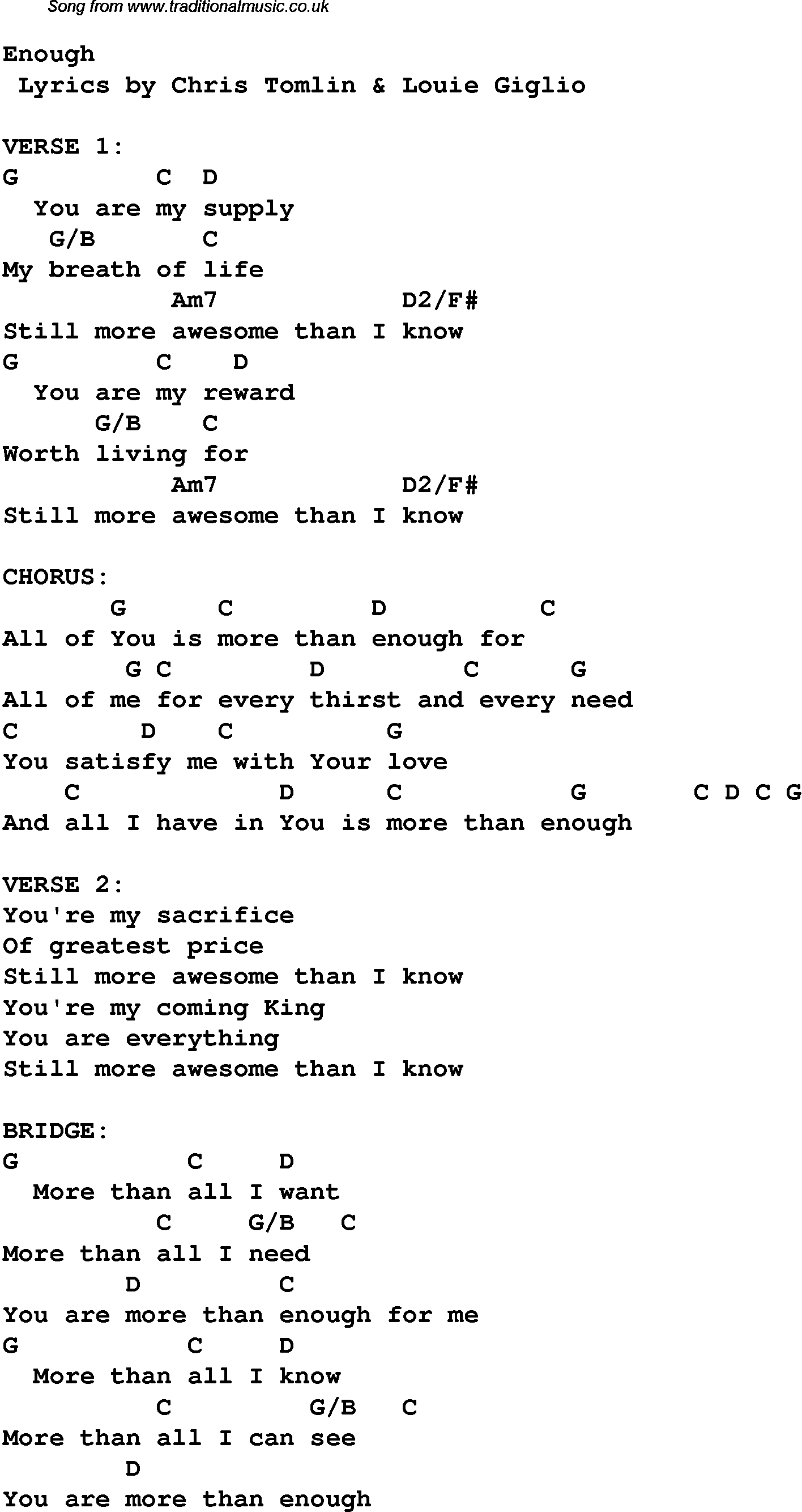 home by chris tomlin chords | Chris Tomlin search - Page 1 ...