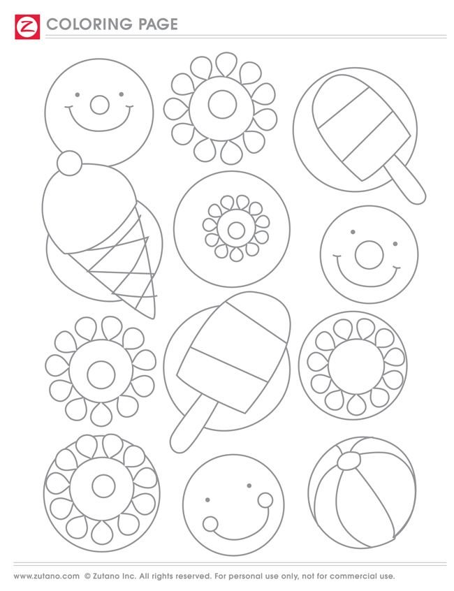 Printable Popsicle Coloring Pages | Coloring pages ...