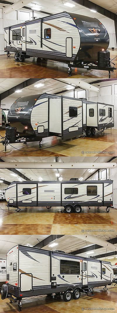 rvs: New 2018 32Rkts Rear Kitchen Bedroom Slide Out Travel Trailer ...