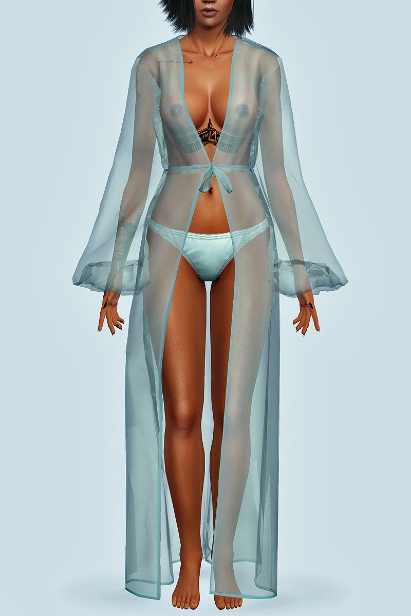 "santosfashionsims: "" Rihanna - Needed Me Transparent Gown ..."