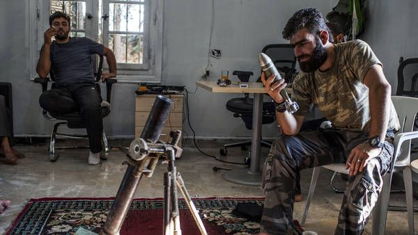 Syrian Rebels Coalesce Into a Fighting Force - This is a great article about the everyday situation in Syria.  The video is an eye opening look at the anti-government forces.