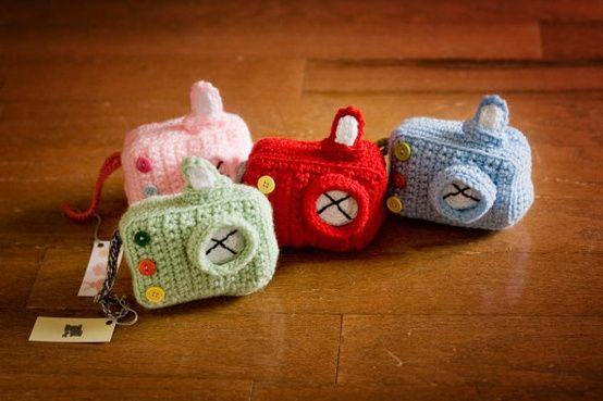 Plush Toy Camera by