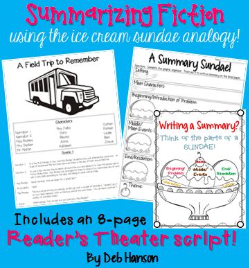 Readers' Theater Script and Summarizing Activity: A Field ...