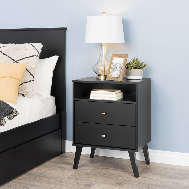 Pin By Sarai On Dekor In 2021 Tall Nightstands 2 Drawer Nightstand Prepac