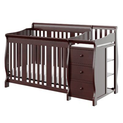 Jaden Convertible Standard 2 Piece Nursery Furniture Set Crib With Changing Table Crib And Changing Table Combo Convertible Crib