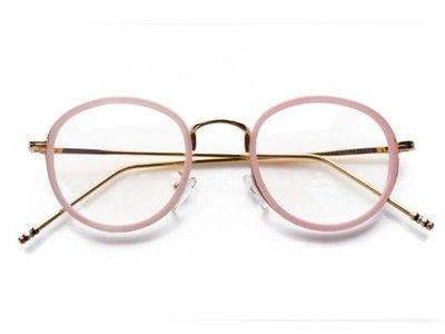 59811ca44b9b9 OKRĄGŁE okulary DAMSKIE ZERÓWKI z ANTYREFLEKSEM
