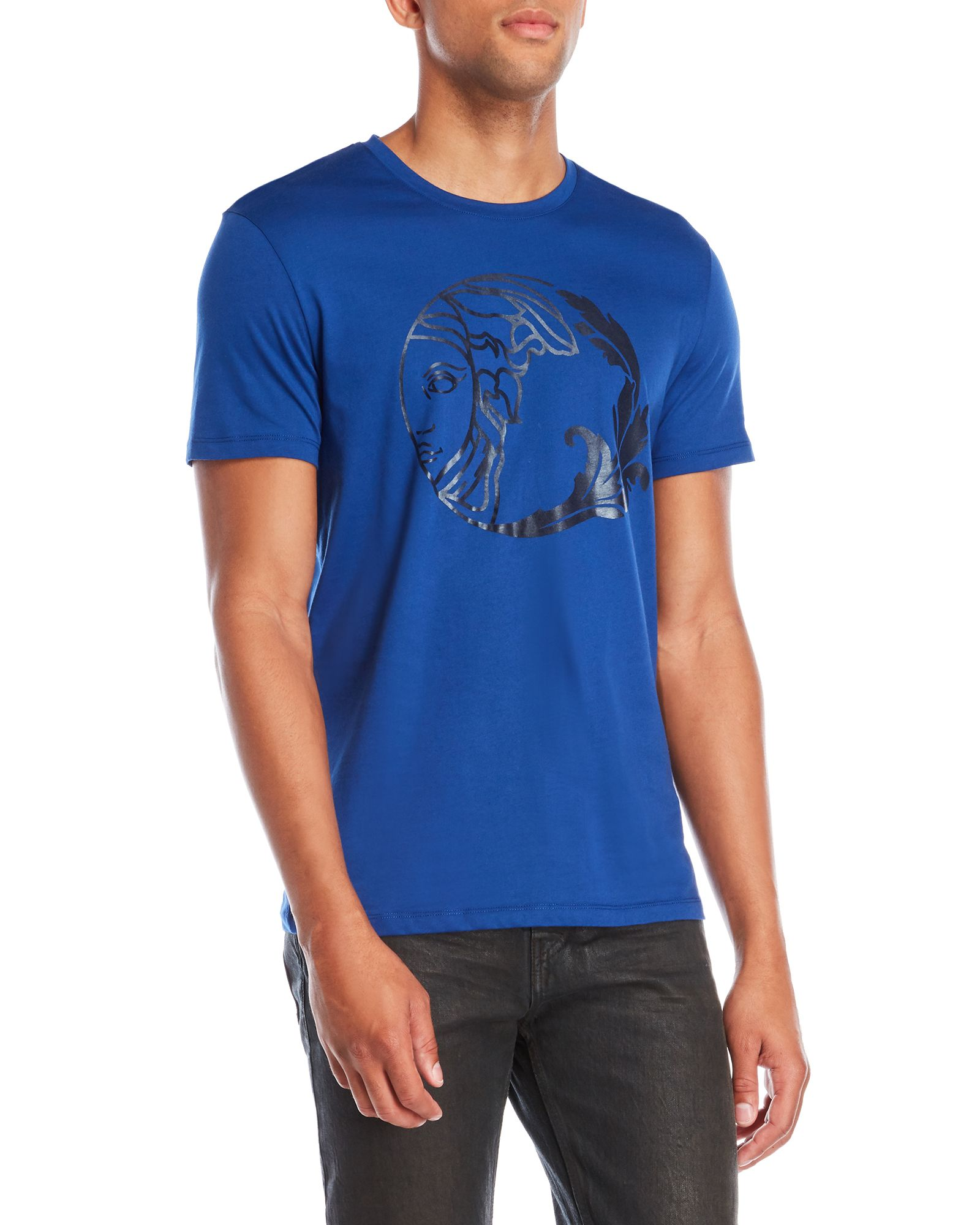 48c2849489d Versace Collection Graphic Logo Tee
