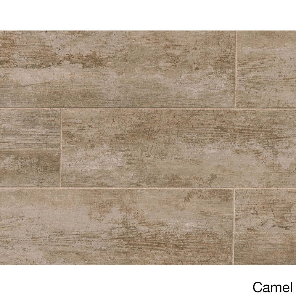 Bedrosians Vintage Collection Alabaster Porcelain Tile (Box of 8 ...