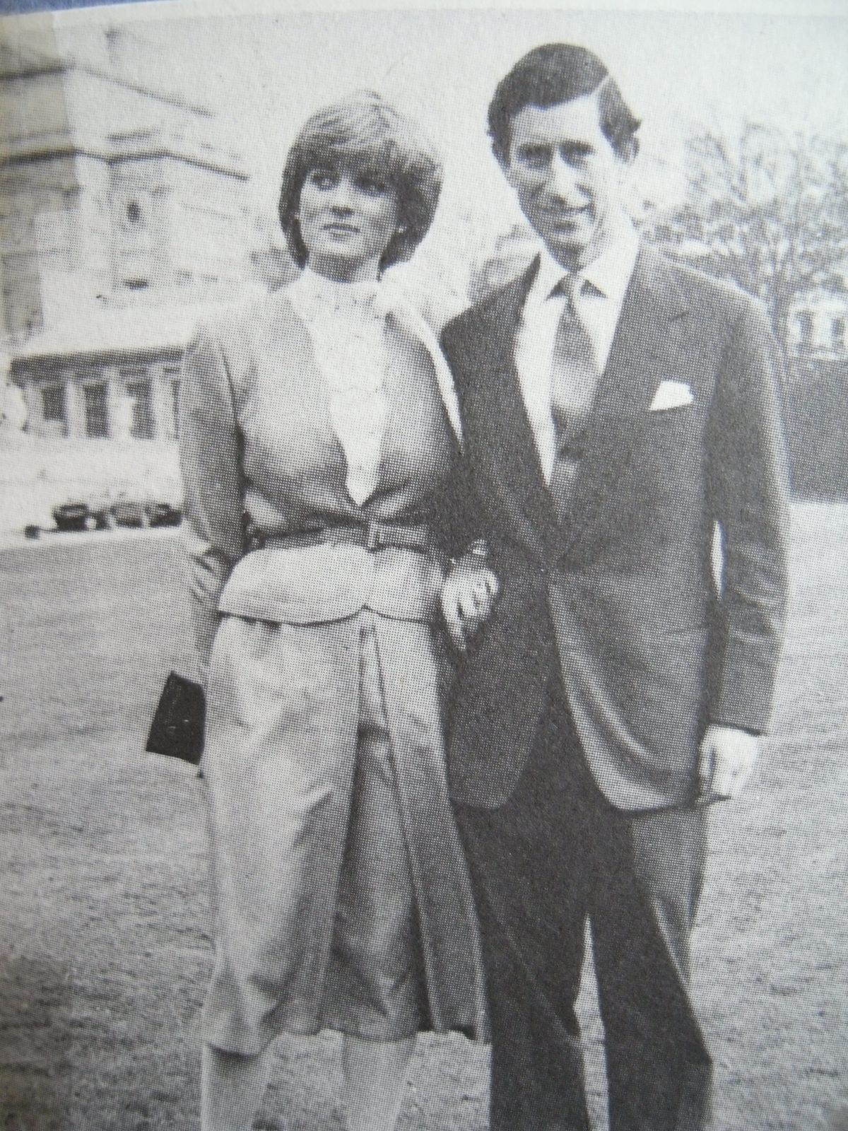 February 24, 1981 Prince Charles and his fiancé, Lady