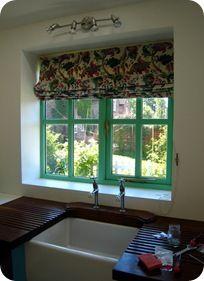 hook up roman blinds