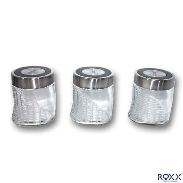 Roxx Neo 3 Pcs Storage Jar Set Jar Storage Kitchen Storage