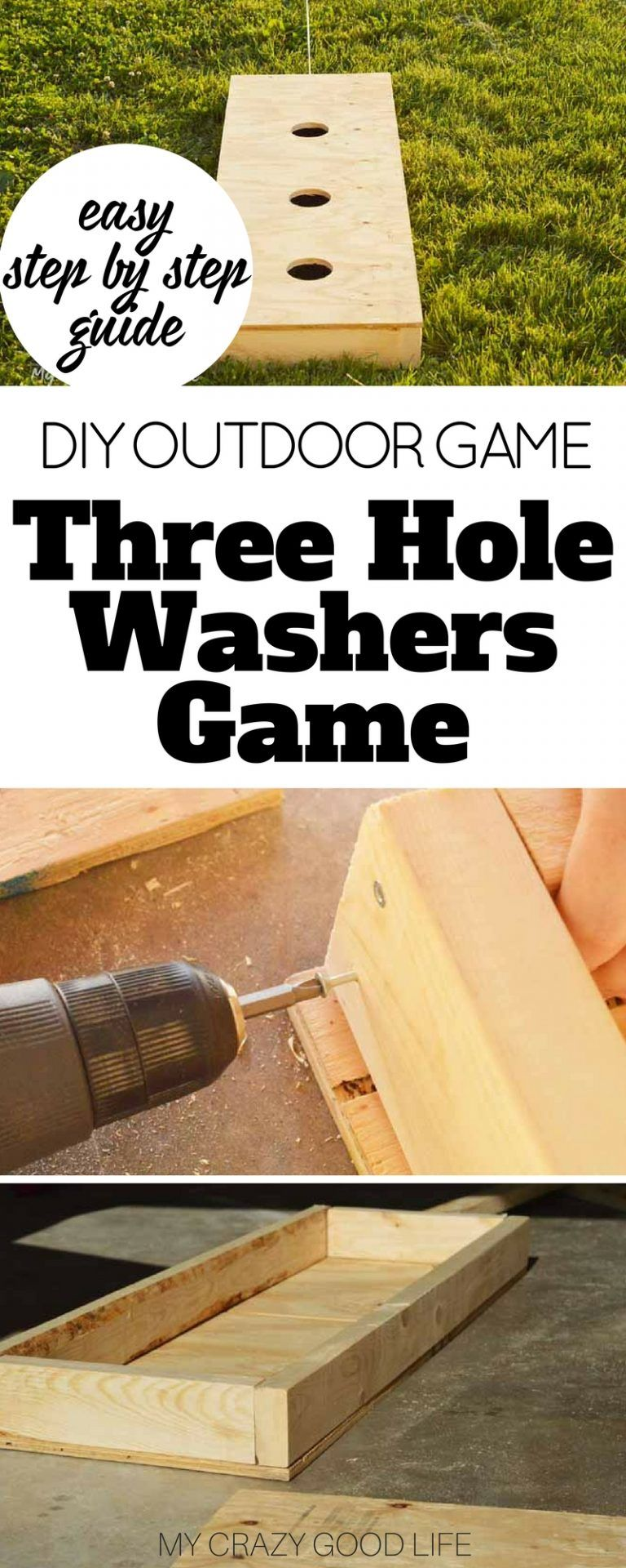Three Hole Washers Game and Rules (With images) Washers