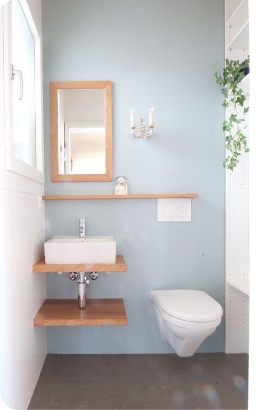 Efh Gastetoilette Farb Stoff Farbe Schafft Raum Badezimmerideen Badezimmer Ideen Todaypin Com Gaste Toilette Badezimmer Farben Badezimmer