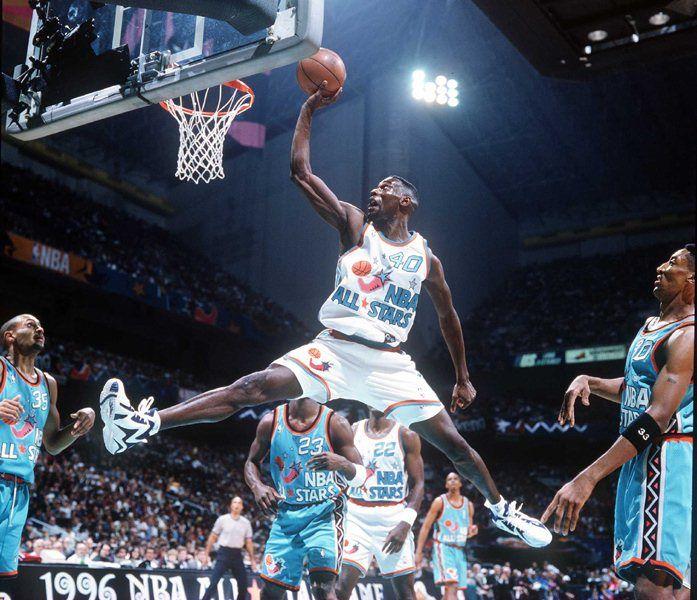 Shawn Kemp  Flashback    The 1996 NBA All Star Game Shoes  80dd94e93