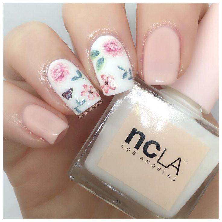 Chelsea Flower Show Nail Art Feat. Meebox