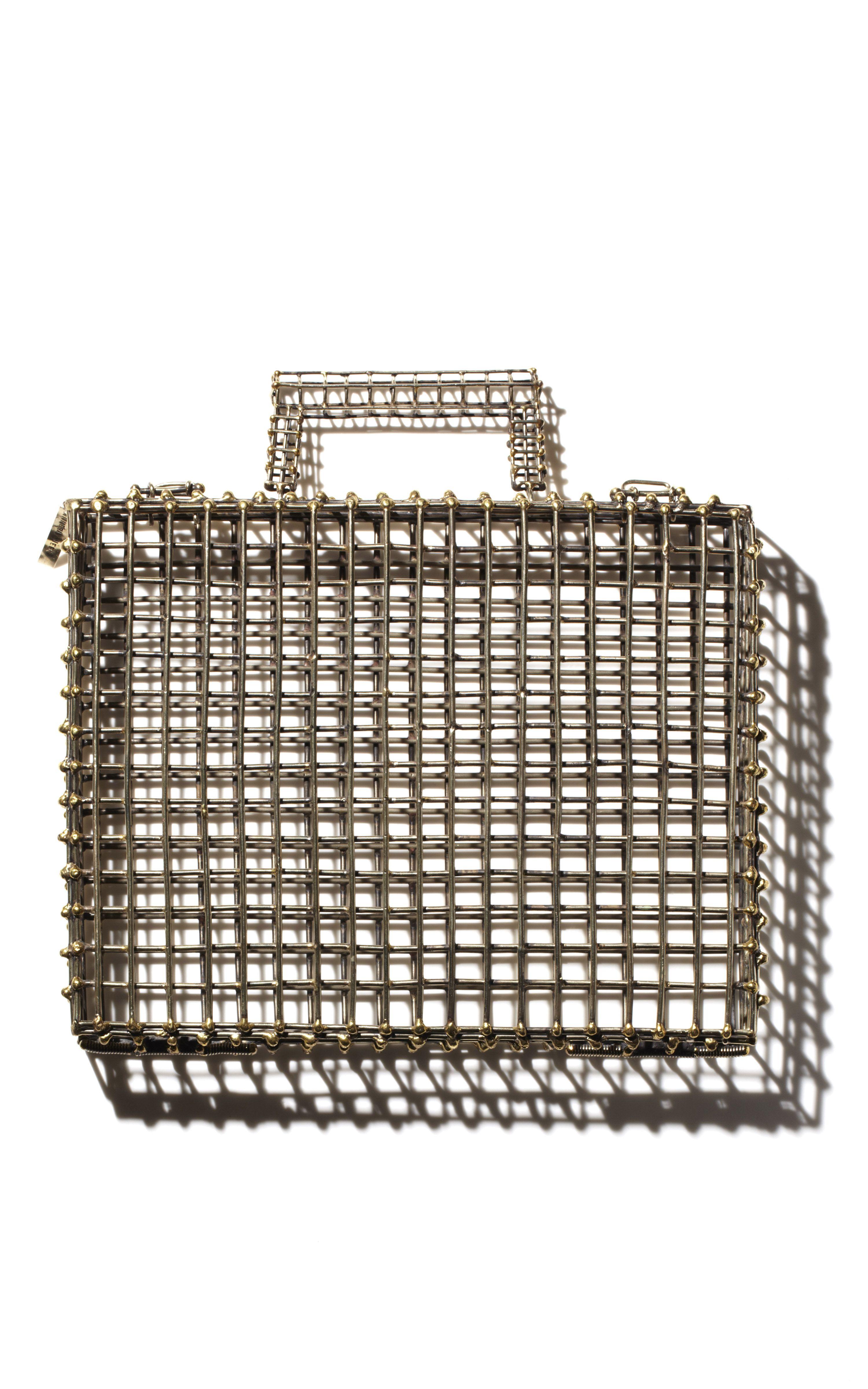Anndra Neen : Metal Cage iPad Case  USD1,150