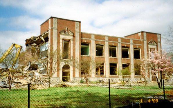 Destruction Of My High School West End High In Birmingham Al
