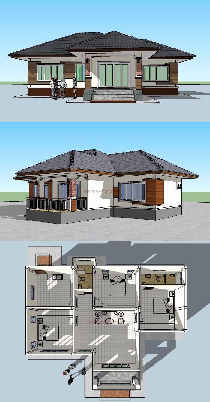 Low Budget Modern 3 Bedroom House Design Inspirational ...