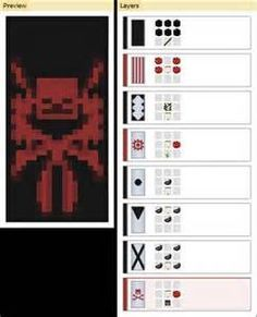 Crafting Recipes Minecraft Banner With Images Minecraft Banner