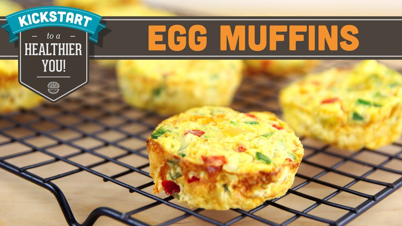 Egg Muffins - Mind Over Munch Kickstart Series