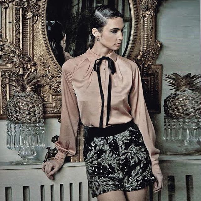 regal rose in the Noble Shorts from #LeavesofTelluride for @okmagazine this week