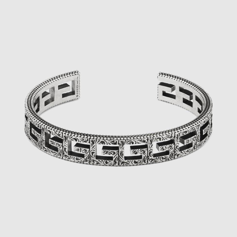 db738192d1ab9 Cuff bracelet with Square G motif | เครื่องประดับ | เครื่องประดับ