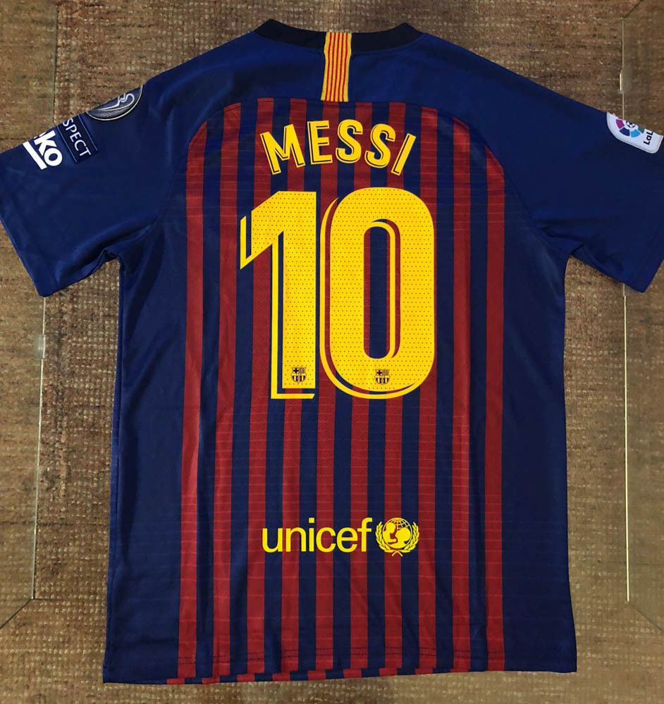 10 Messi FC Barcelona Soccer   Football 2018 2019 Adult   Men Jersey NWT  Brand  sports  soccer  trending  messi ac20aa25f