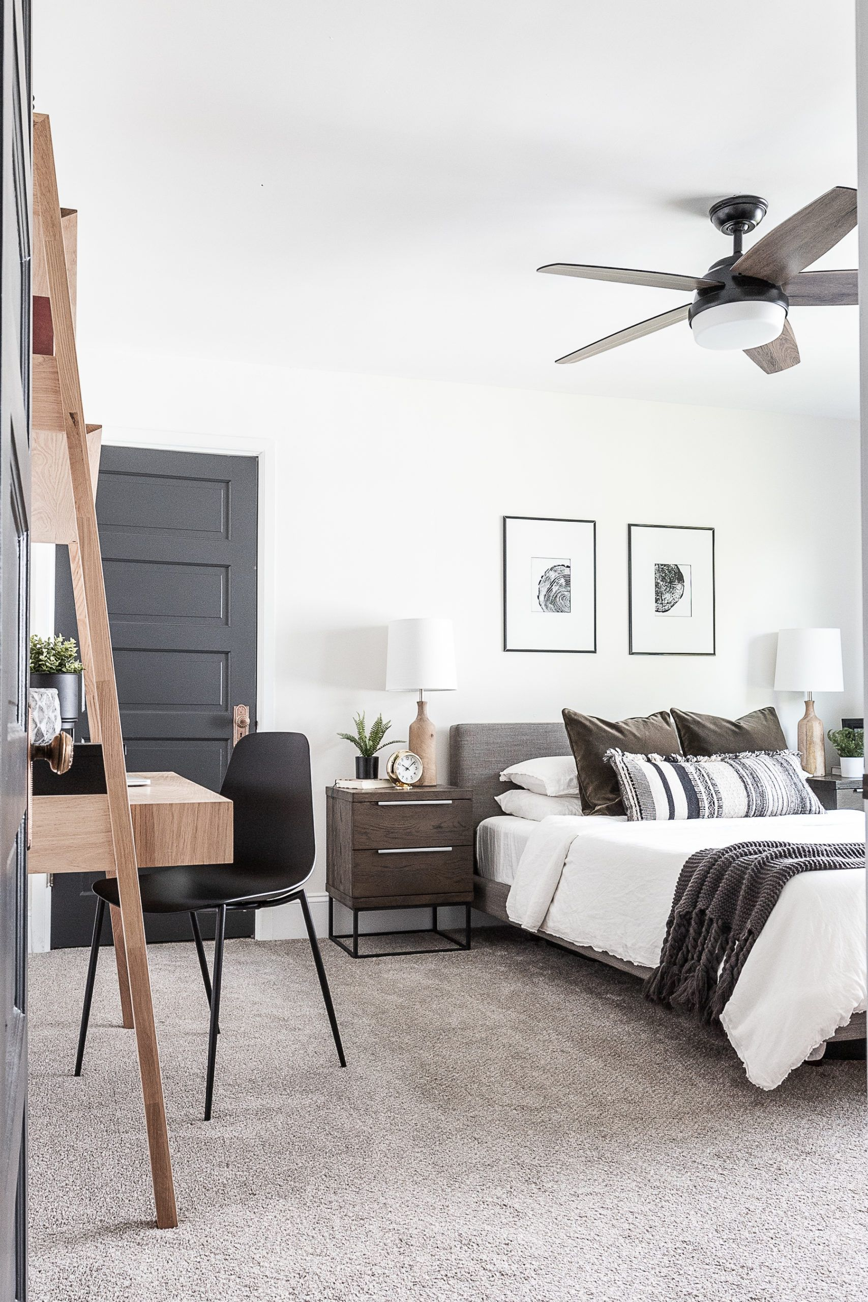 Cozy Modern Scandinavian Master Bedroom Cherished Bliss In 2020 Cheap Home Decor Home Decor Master Bedroom Furniture