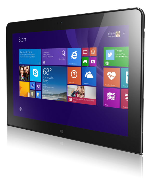 Lenovo Unveils The Thinkpad 10 With Support For 64 Bit Windows 8 1 Tablet Tablet 10 Windows Tablet