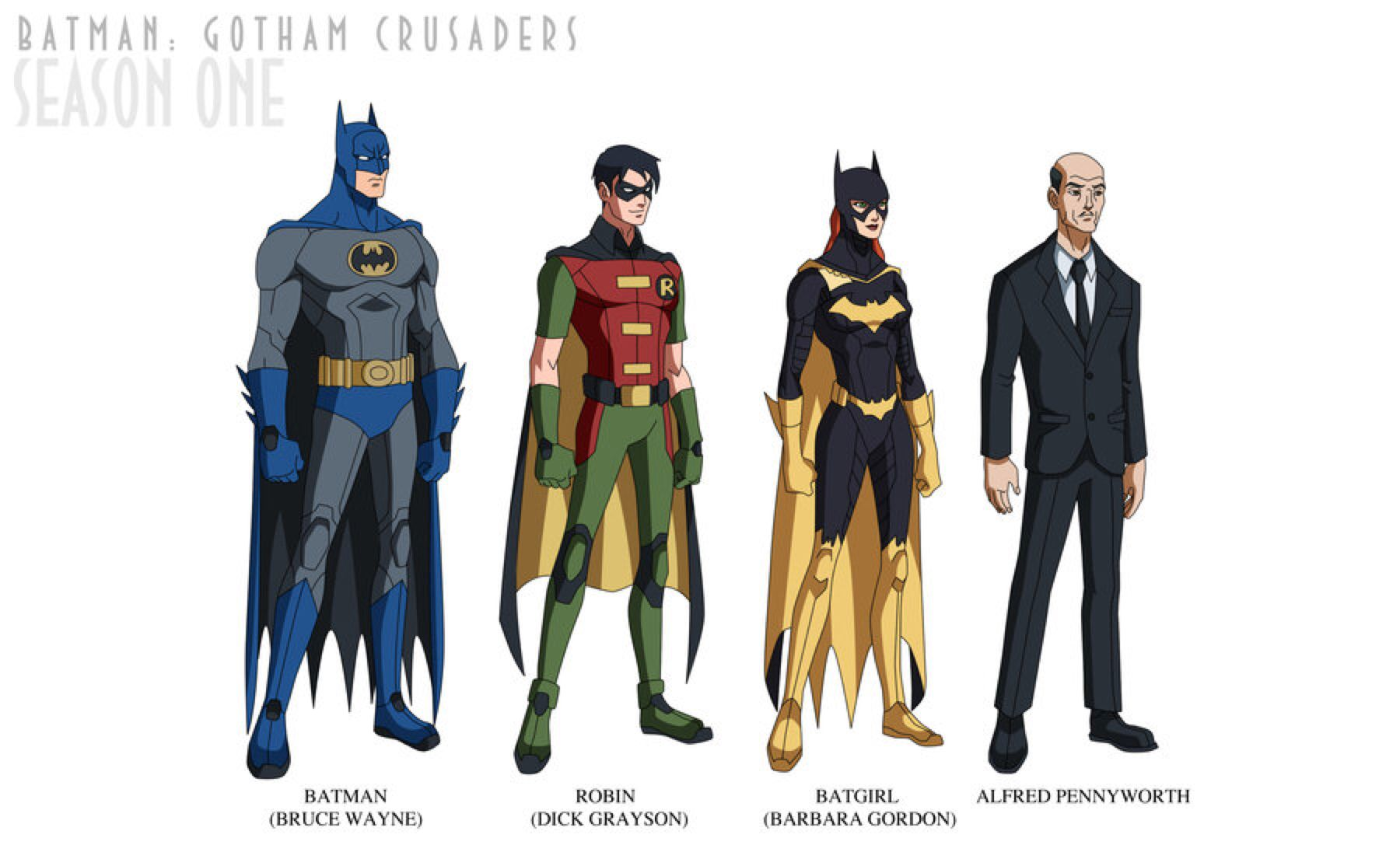 Batman: Gotham Crusaders - Season One by phil-cho on @DeviantArt