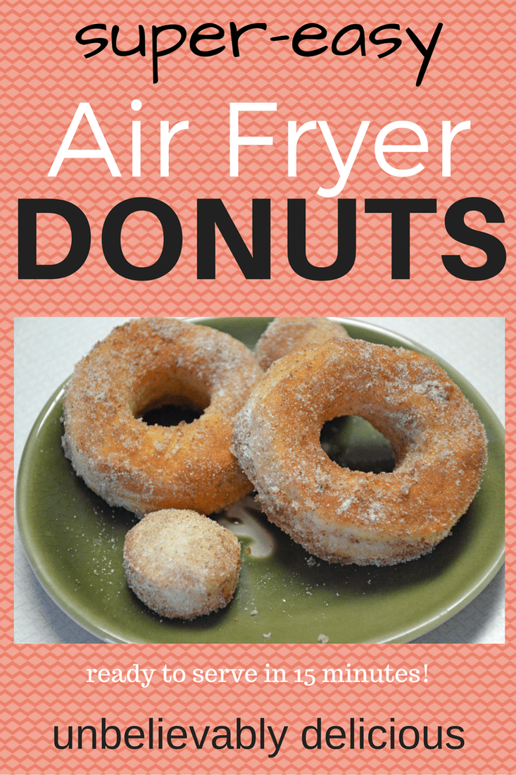 Jen's Air Fryer Donuts Recipe SuperEasy and Delicious