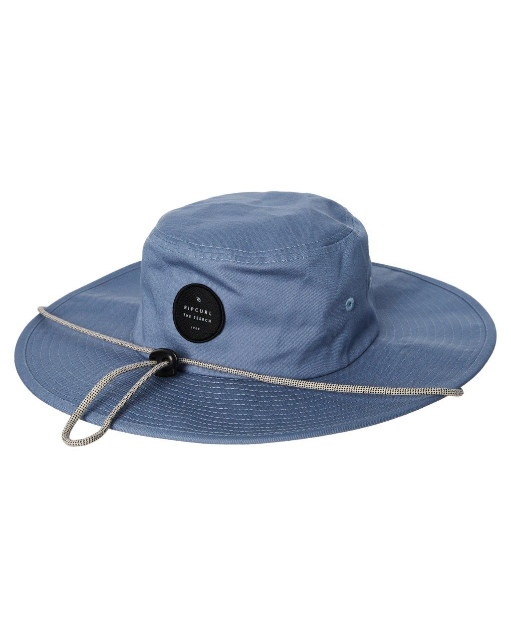 ed9337222438c Rip Curl Valley Wide Brim Hat Light Blue Mens Accessories Other Size ...