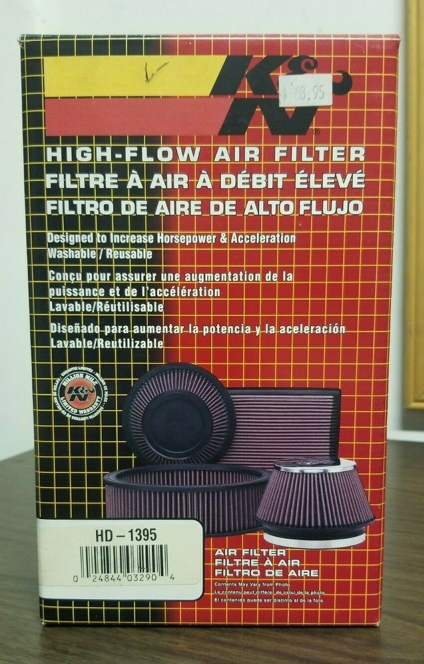 Details about K&N HD1395 HighFlow Air Filter Harley