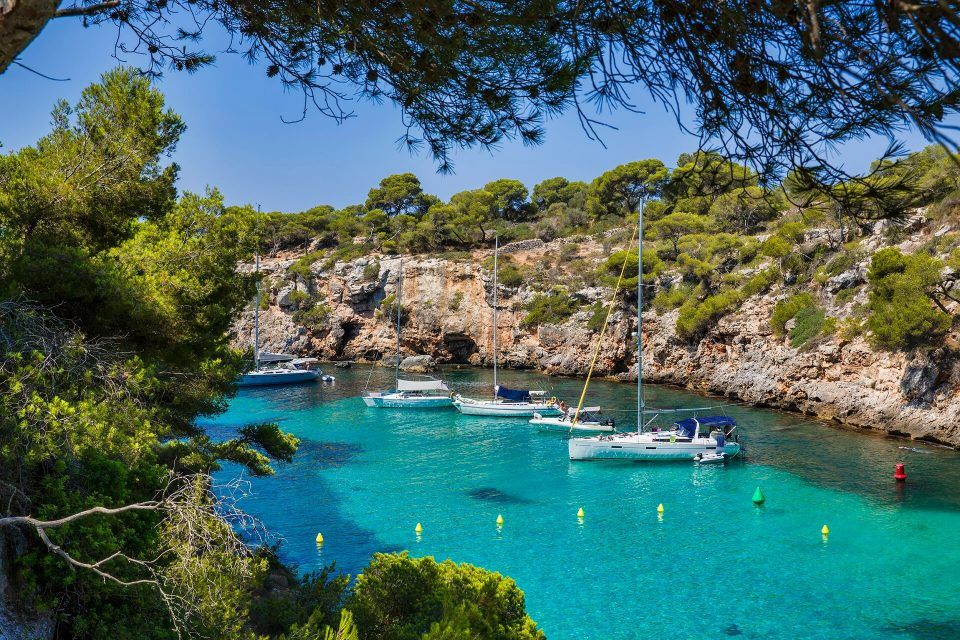 Cala Pi Steilkuste Trifft Traumstrand Cala Pi Mallorca